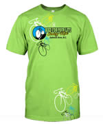 Bike for your life - T-shirt mock up